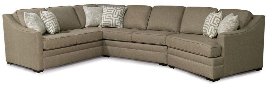 Kaden Sectional With Cuddler And 6 Seats By England In 2020 With