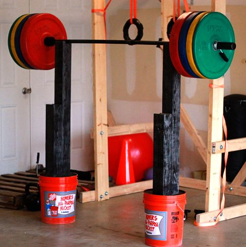 Homemade Squat And Bench Press Stand Diy Home Gym Crossfit