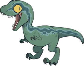 Baby Blue Jurassic World Dinosaurs, Jurassic Park World, - Baby Blue Jurassic World Png Image With Transparent Background