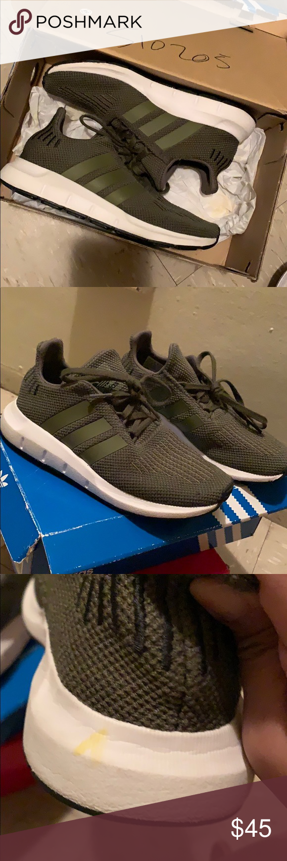 Brand new Adidas Swift Run gym shoes NWT
