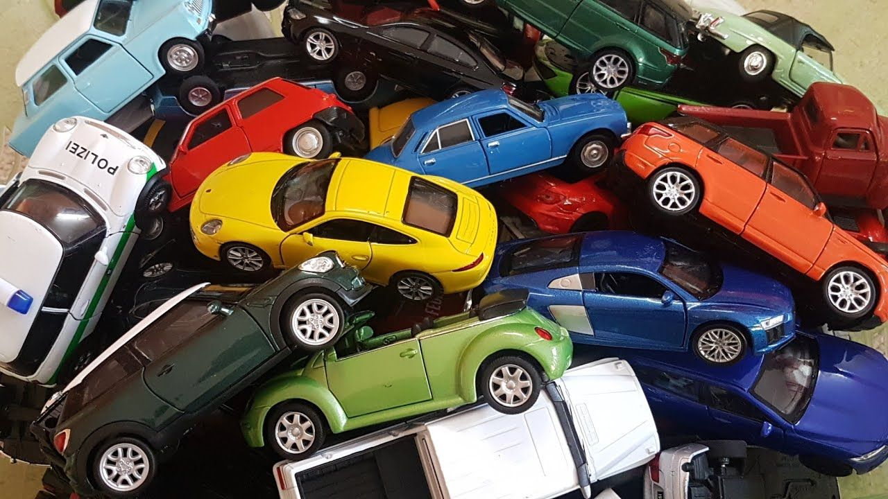 Cars For Kids Box Full Of Welly Cars Collection Video For Kids