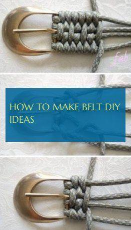How To Make belt diy ideas   wie man gürtel diy-ideen macht how to make i … -… –  How To Make belt diy ideas   wie man gürtel diy-ideen macht ho…
