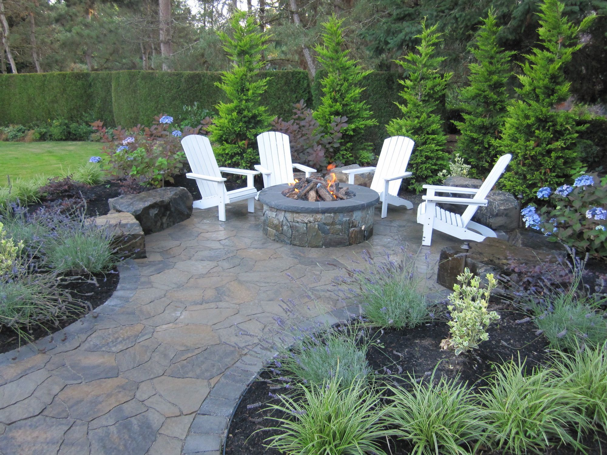 Photo of 50 Fire Pit Ideas Landscaping Outdoor Living