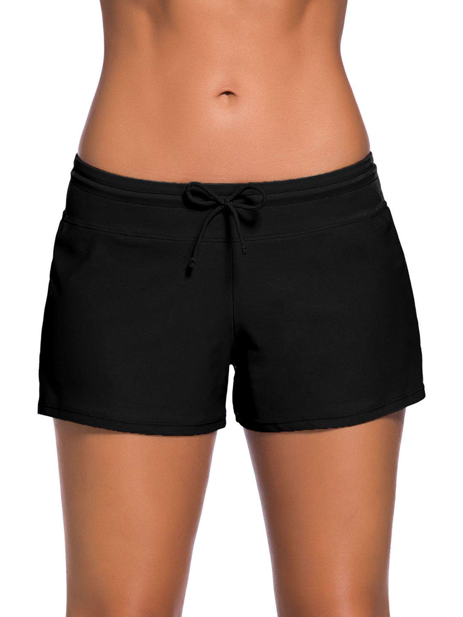 womens swim shorts walmart