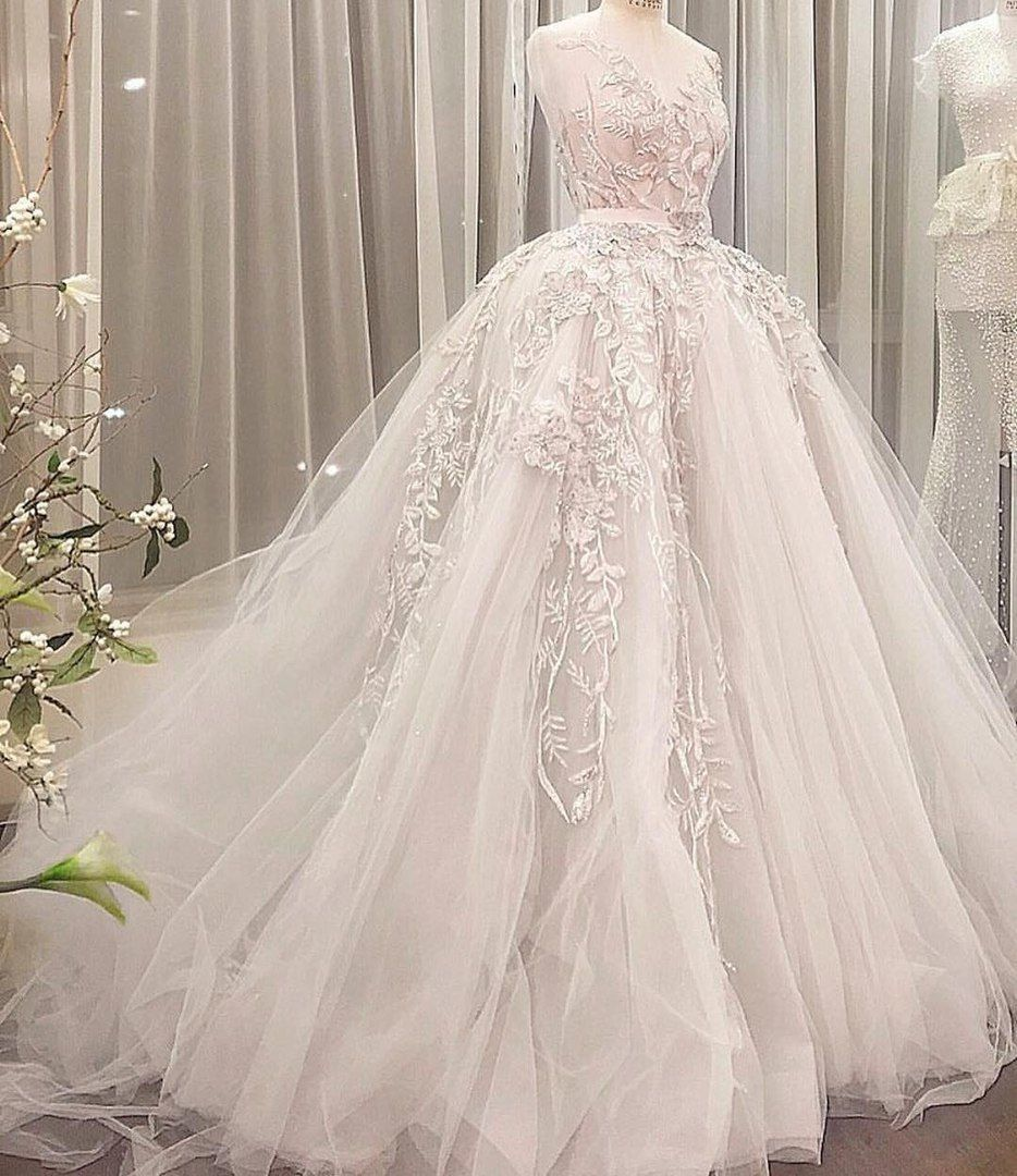 A beautiful mimishka tulle wedding gown wedding dresses