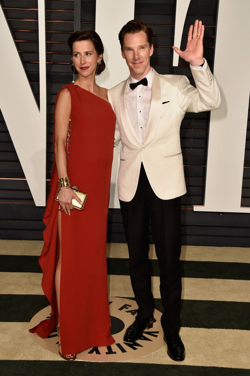 Sophie Hunter, Benedict Cumberbatch The colors work so well together.