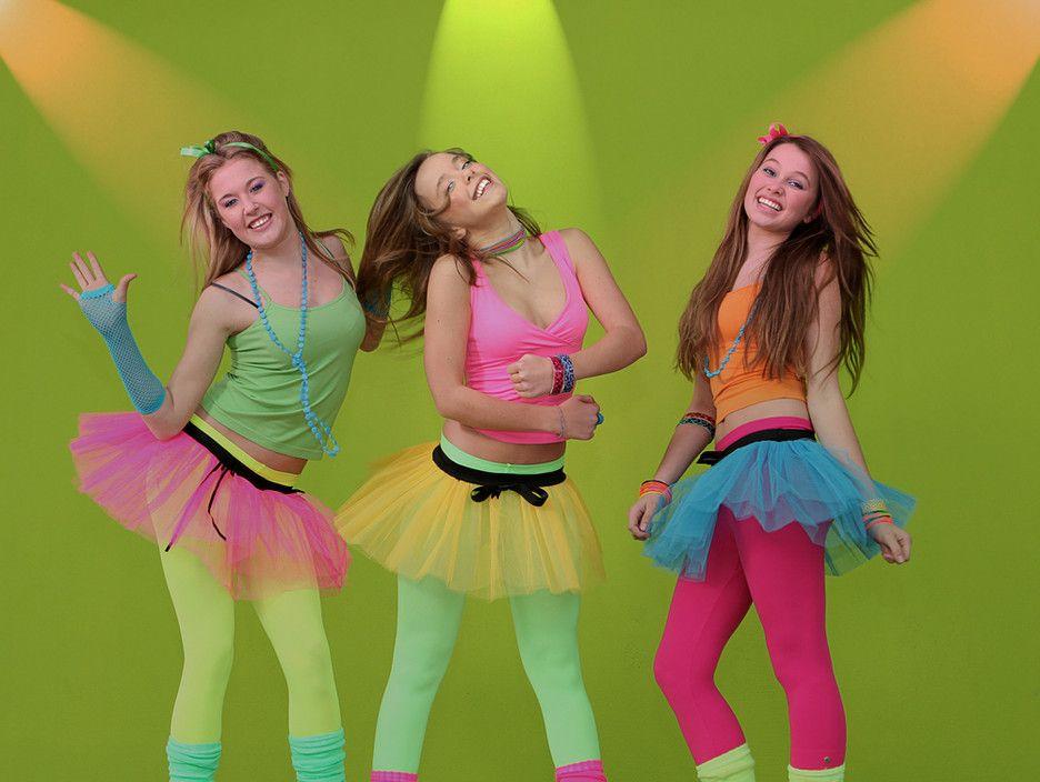 Neon fashion 80's style! | Theme Party: The 80's | Pinterest ...
