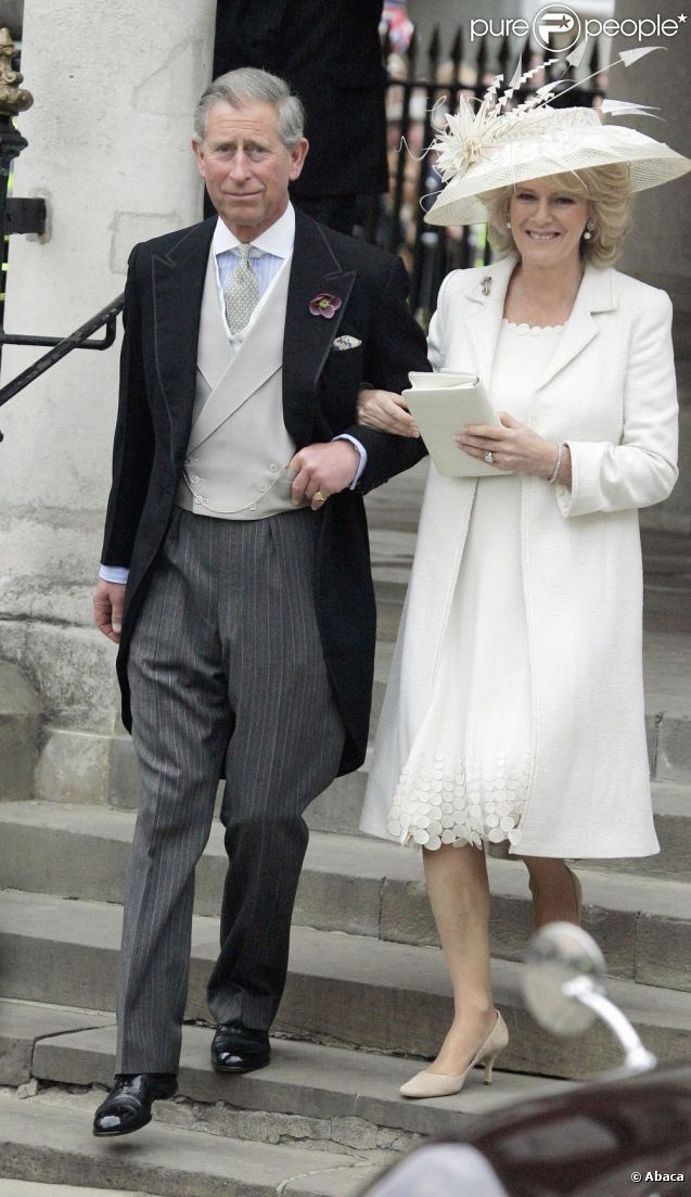 Prince Charles , Camilla, Duchess of Cornwall after their