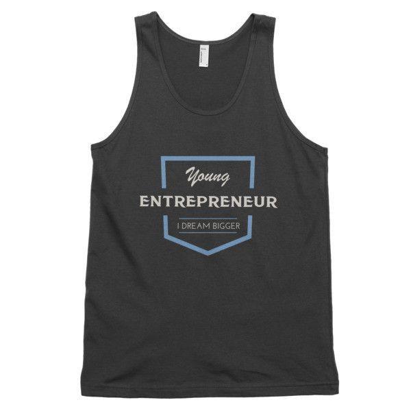 Men's Young Entrepreneur - I Dream Bigger Classic tank top