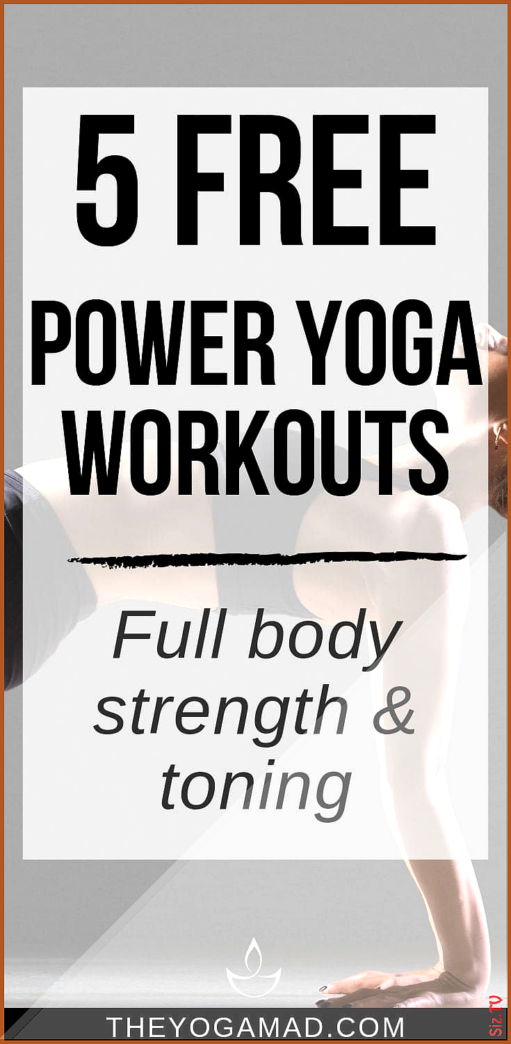 Power yoga is a rigorous athletic style of yoga that burns calories tones and strengthens muscles an...