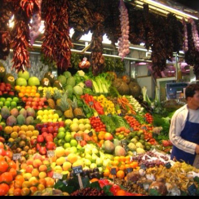 Market, Barcelona, Spain