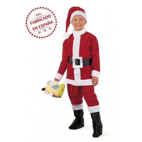 Disfraz de papa noel infantil premium navidad infantil - Disfraz de santa claus para nino ...