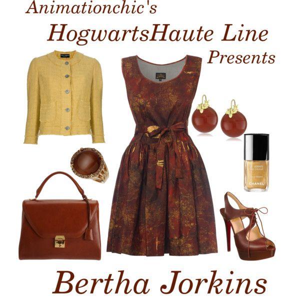 Bertha Jorkins Bertha Harry Potter Outfits Dolce And Gabbana