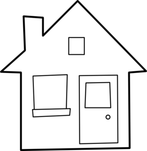 Maison House Clip Art Clip Art House Clipart Clipart Black And White