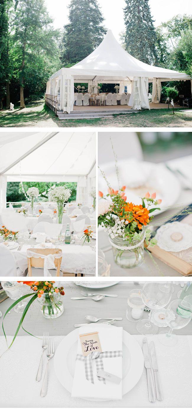 Steffi und marco sommerliche picknickhochzeit von nadi meli heischnuff boda flores und bautizo - Zelt deko hochzeit ...