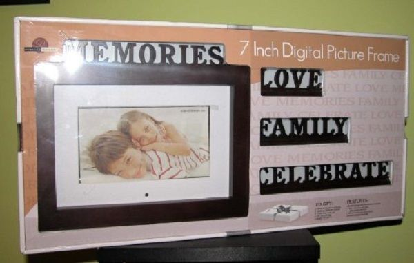 Digital Decor Photo Frame Ebay