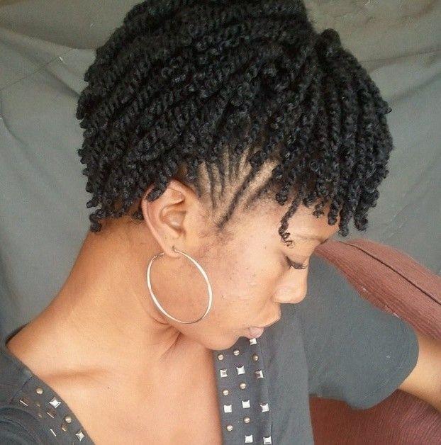 22 Cute Braiding Hairstyles For Short Natural Hair Short Hair