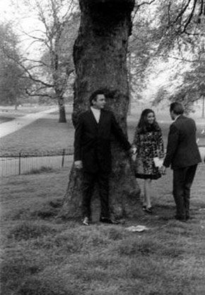 Johnny & June Hyde Park for a photograph session for members of the media.