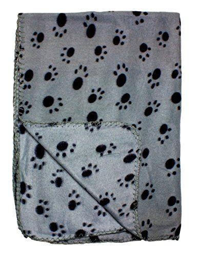 Gray Fleece 39 x 27 Inch Pet Blanket with Paw Print Patte... https://www.amazon.com/dp/B00OTZFCI2/ref=cm_sw_r_pi_dp_Dlezxb981NXPF   34 each