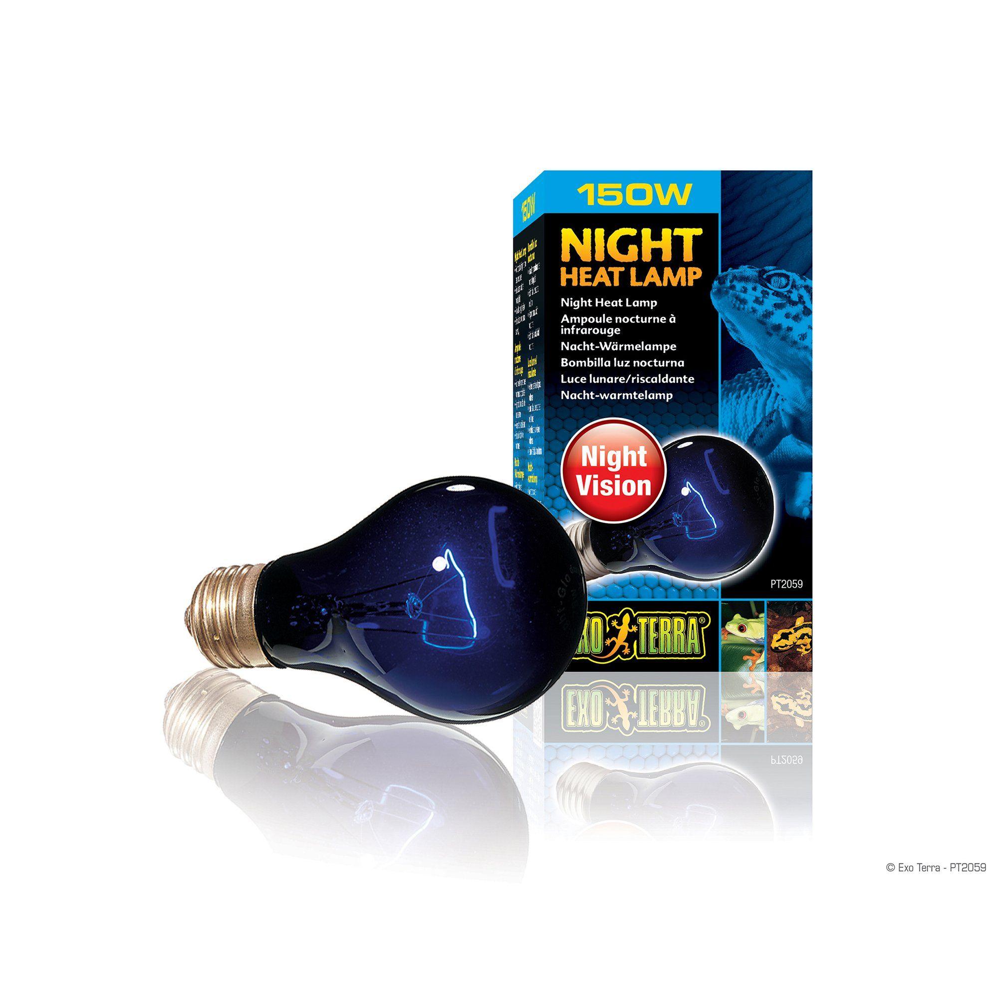 Exo Terra Night Heat Lamp 150 Watt Petco In 2020 Heat Lamps Reptile Lights Night