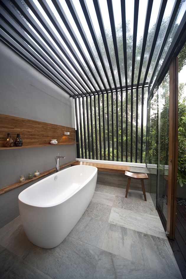 Swiss View Transitional Landed House Interior Design Bathroom Glamorous Luxury Outdoor Bathrooms Inspiration