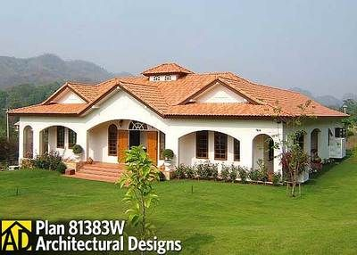 Plan 81383w Central Courtyard Dream Home Plan Dream House Plans Spanish Style Homes House Plans