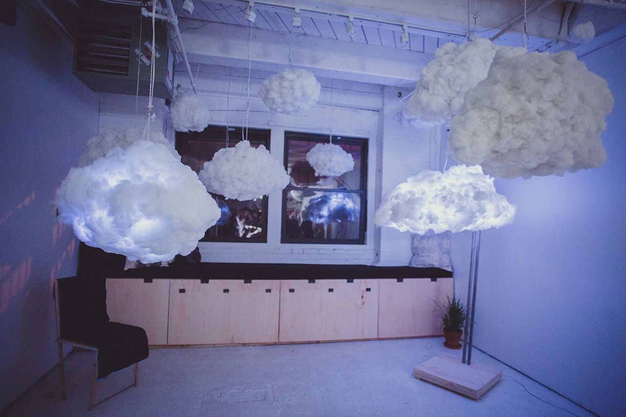 Cloud Richardclarksonstudio Interactive Lamp Cloud Wanteddesign Nycxdesign Nycxd Clouds Thundercloud How Do You Clean