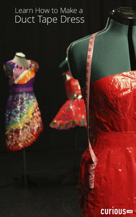 Are you ready to get started making duct tape dresses? In this ...