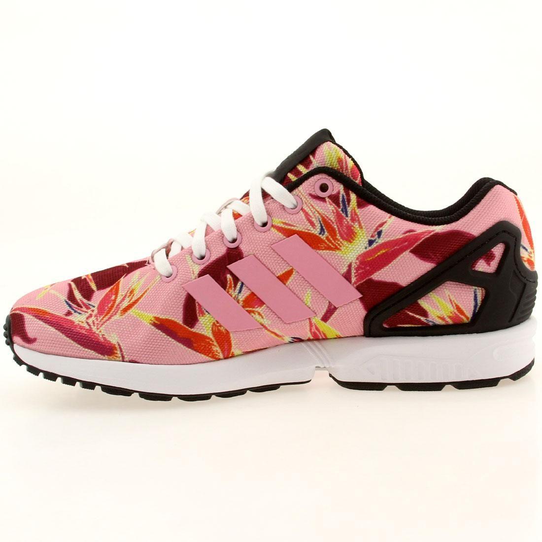 Adidas Men ZX Flux - Solar Floral (pink / ltpink)