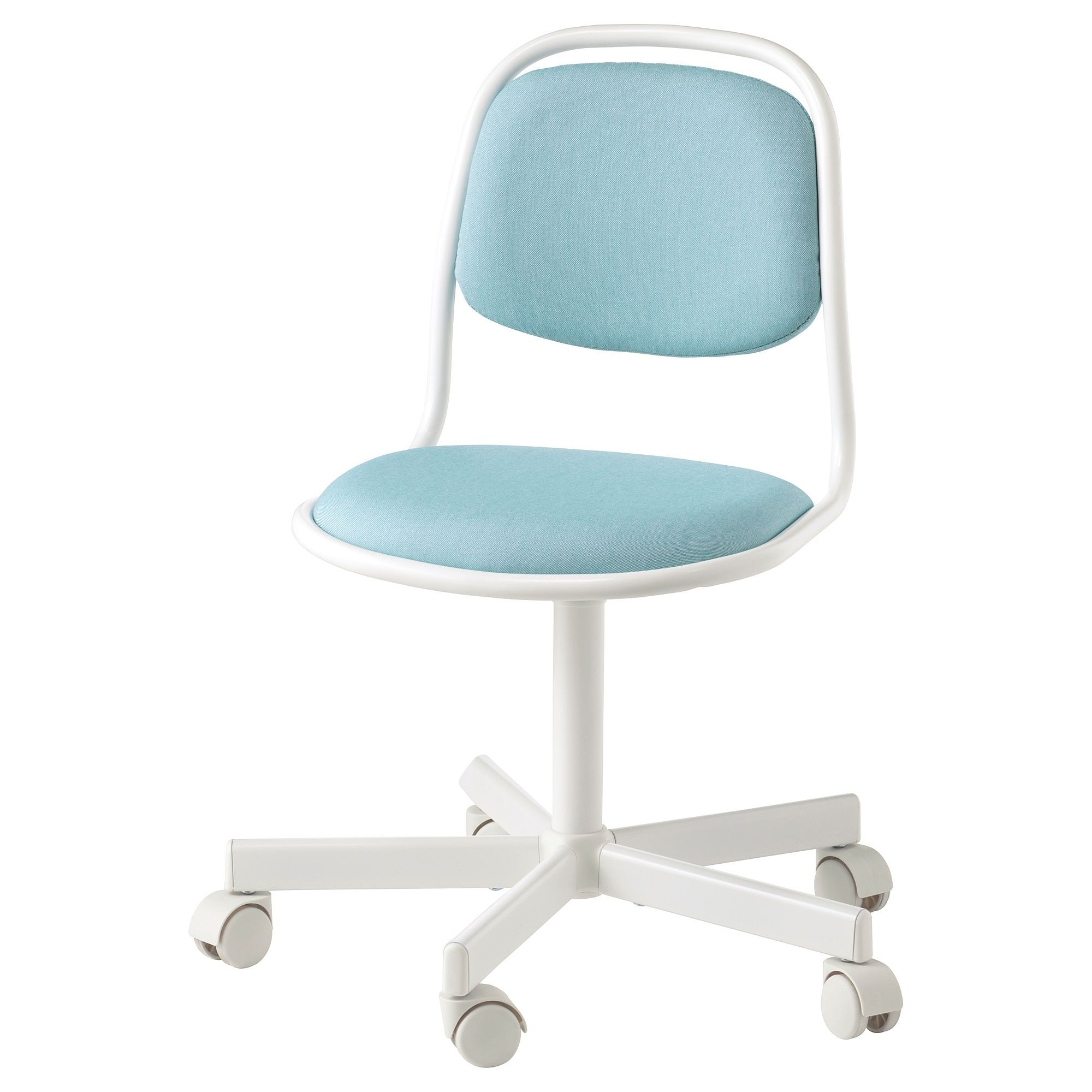 Magnificent Orfjall Childs Desk Chair White Vissle Blue Green In 2019 Machost Co Dining Chair Design Ideas Machostcouk