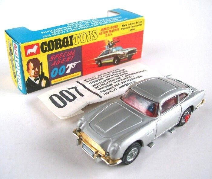 James Bond Aston Martin Toy Car Value