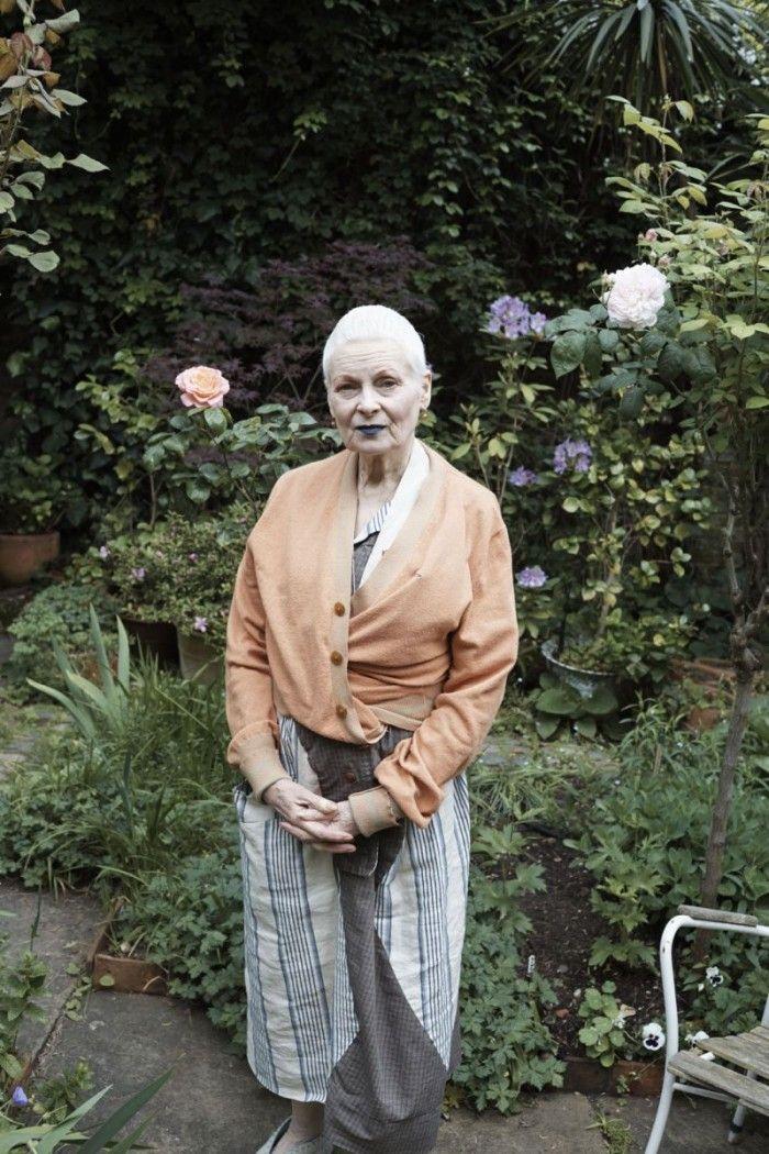 Fotograf By Jurgen Teller Vivienne Westwood National Portrait Gallery Vivienne