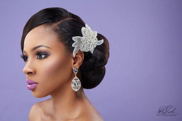 Bridal Makeup Inspiration Beauty Boudoir Charis Hair And Ao Photography Loveweddingsng Ruby Bride Hairstyles Wavy Wedding Hair Hairdo Wedding