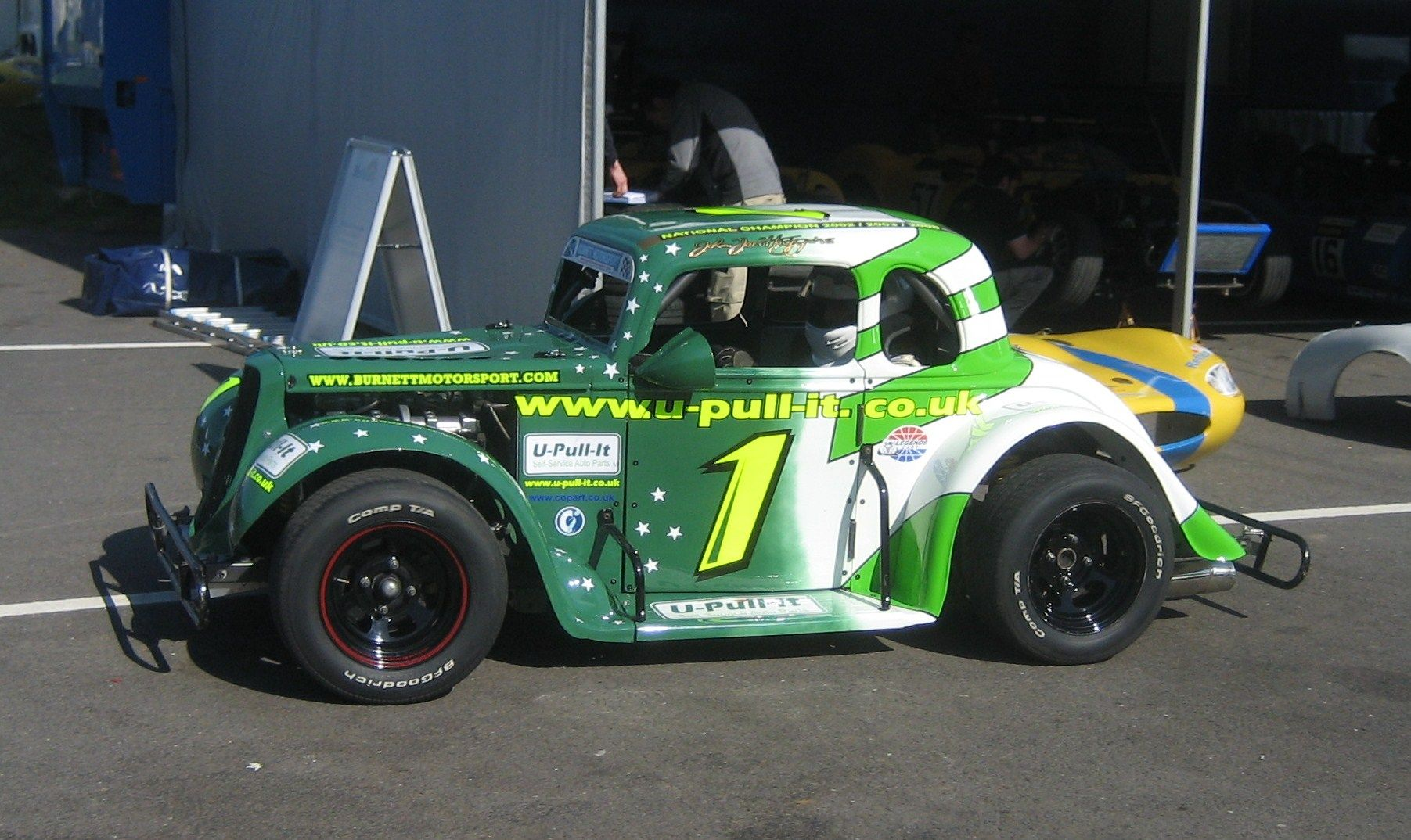 Ford Coupe John Jon Higgins 3 Time Champion Nascar Racing Stock Car Racing Race Cars