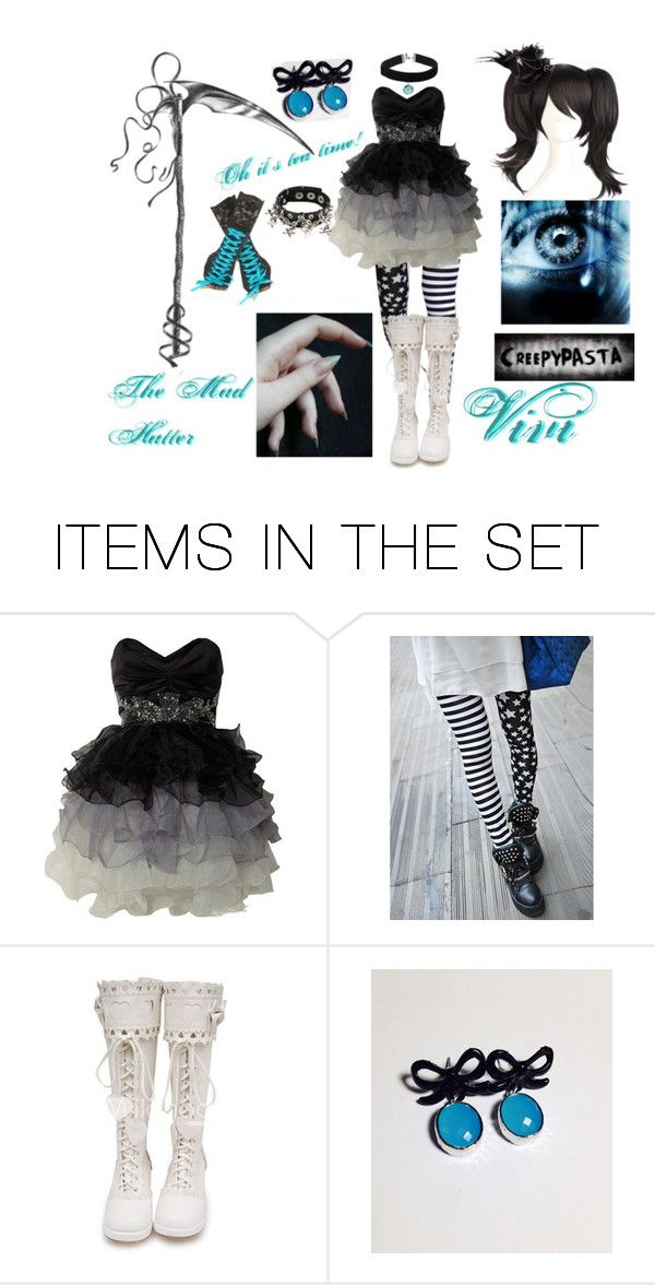 """""""Vivi The Mad Hatter"""" by therussiancanadian ❤ liked on Polyvore featuring art"""