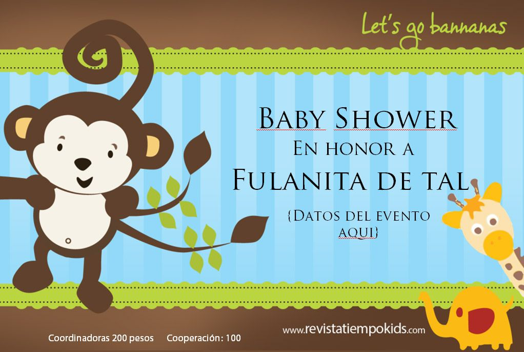 fondos de animalitos para baby shower - Buscar con Google