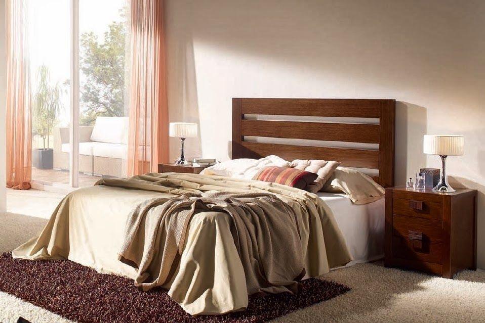 Dormitorio BARI de Expormim. Cabecero, mesitas, cómoda, espejo y ...