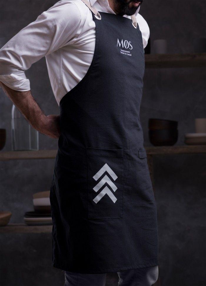 Mos Nordic Restaurant Branding Grits Grids Restaurant Uniforms Restaurant Aprons Chef Dress