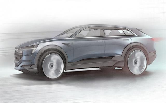 Premium Gear: Audi e-tron quattro concept