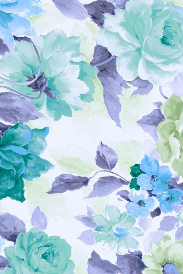 Flores Azules Disenos Pinterest Papeis De Parede Fofo Papel