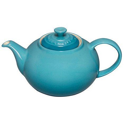 Le Creuset Teal stoneware classic teapot- at Debenhams.com