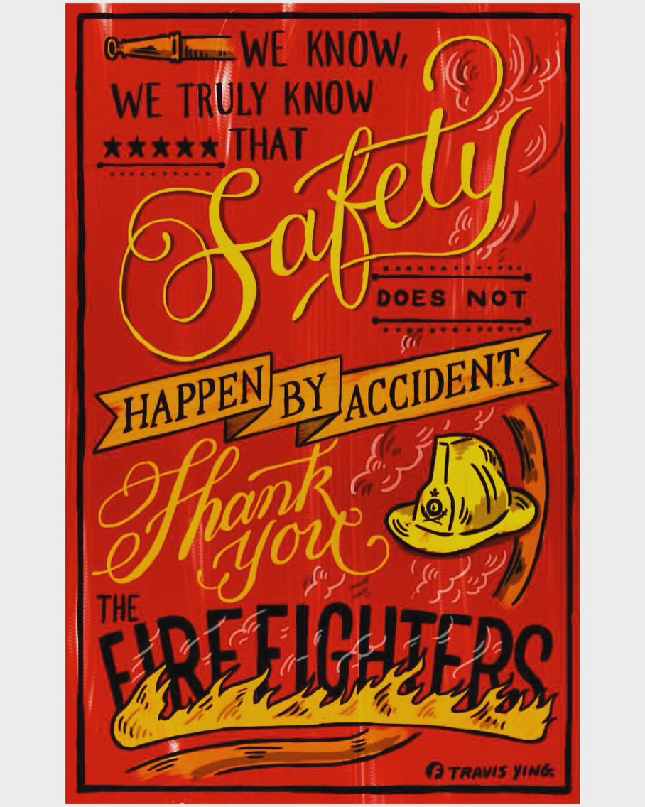 Salute to the HK firefighters. That's all I can do for you! Stay safe please. #digitalart #typo #posterart #typography #calligraphy #typeoftheday #ligaturecollective #thedailytype #typotopia #typematters