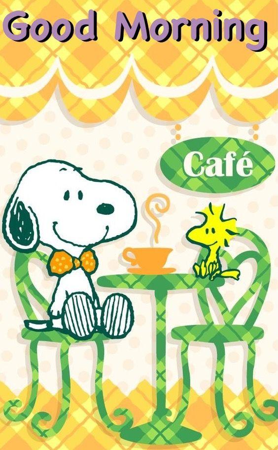 Wuensche Allen Einen Tollen Tag Good Morning Snoopy