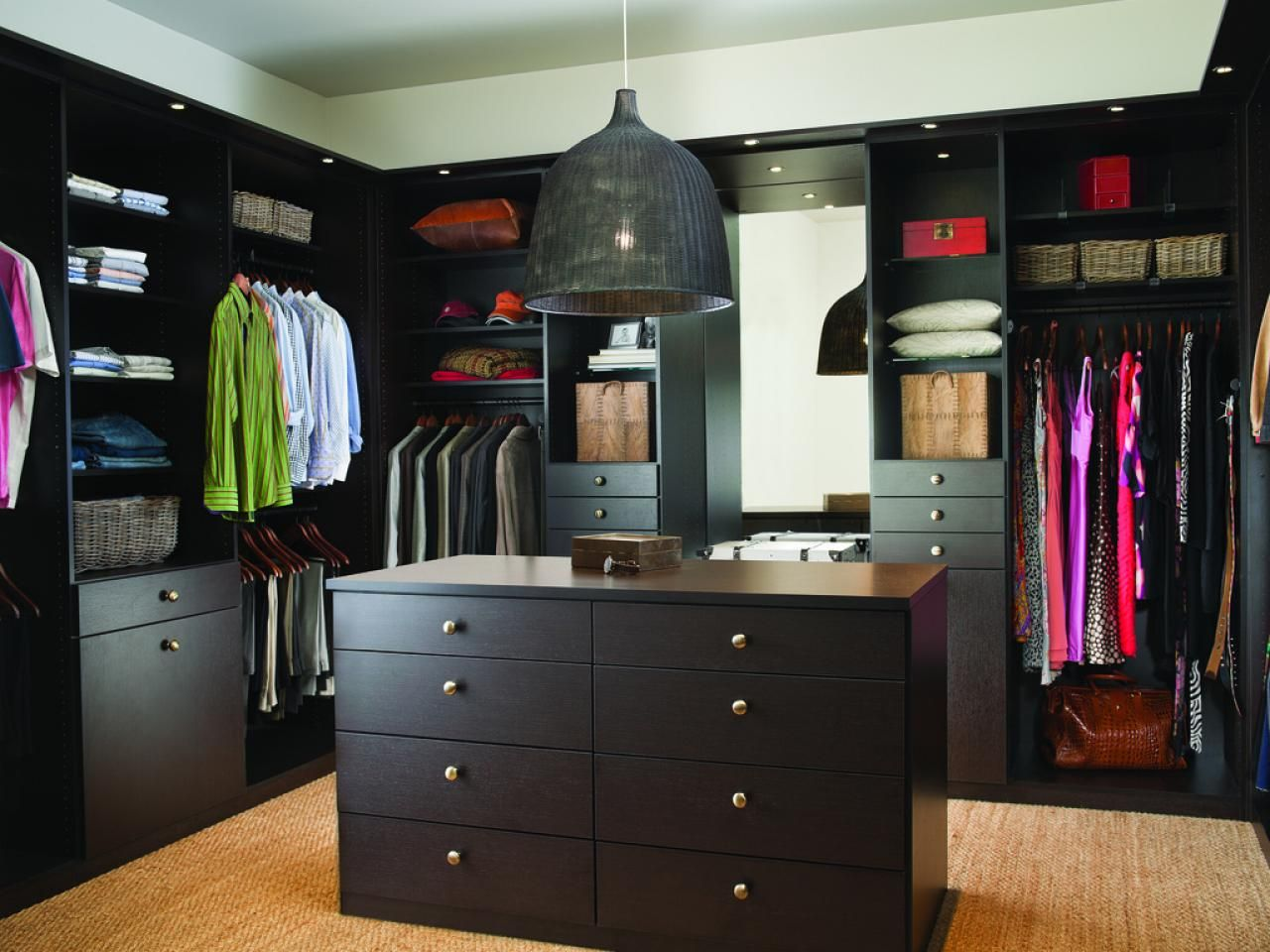 Walk In Bedroom Closet Designs What You Should Know About Closets  Drawer Shelves Hgtv And Clutter