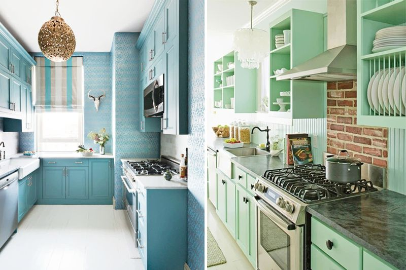 15 Excellent Kitchen Decoration Ideas and Tips For You: 6. Blue and ...