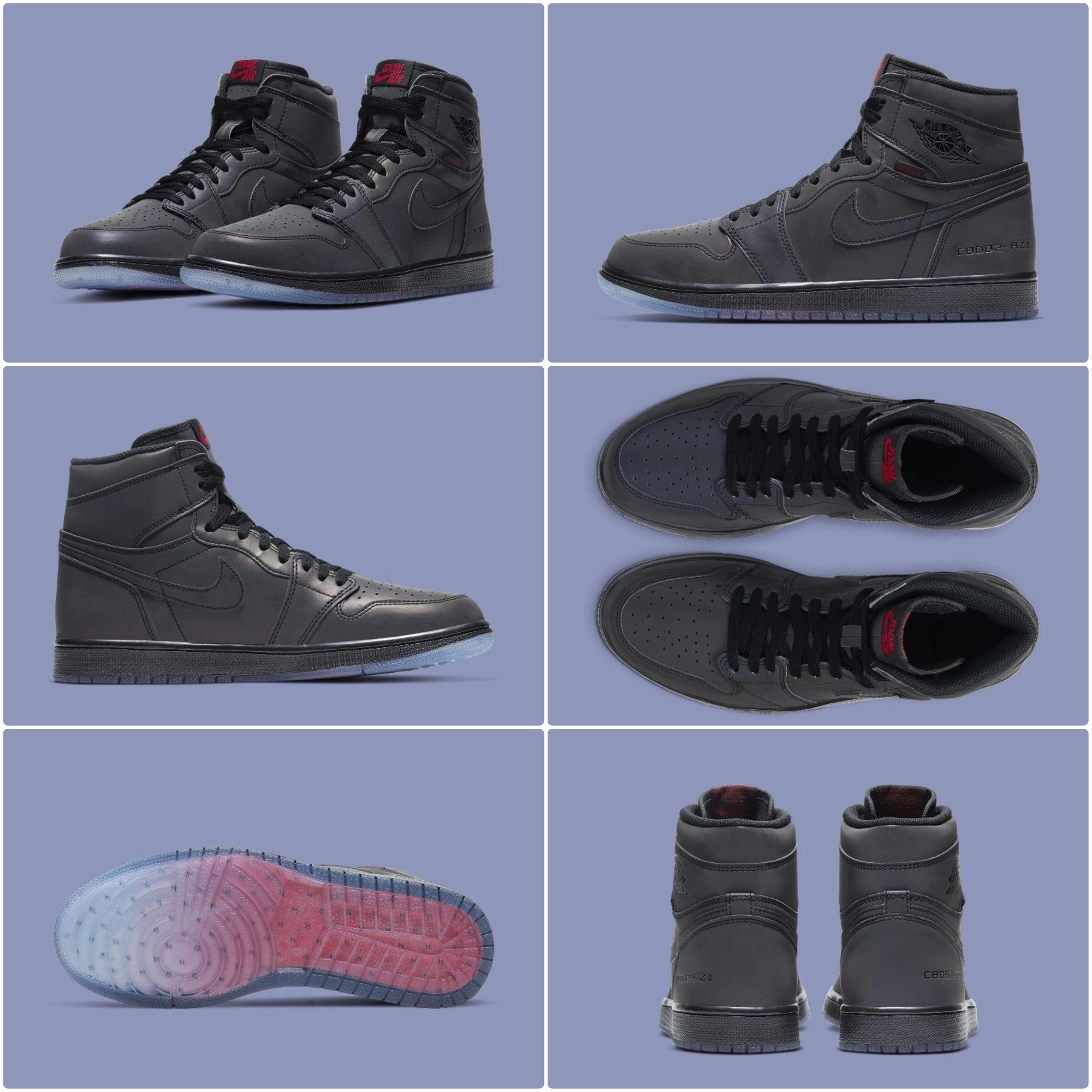 """First Look Air Jordan 1 High Zoom """"Fearless"""" 😨 💻 Klickt"""