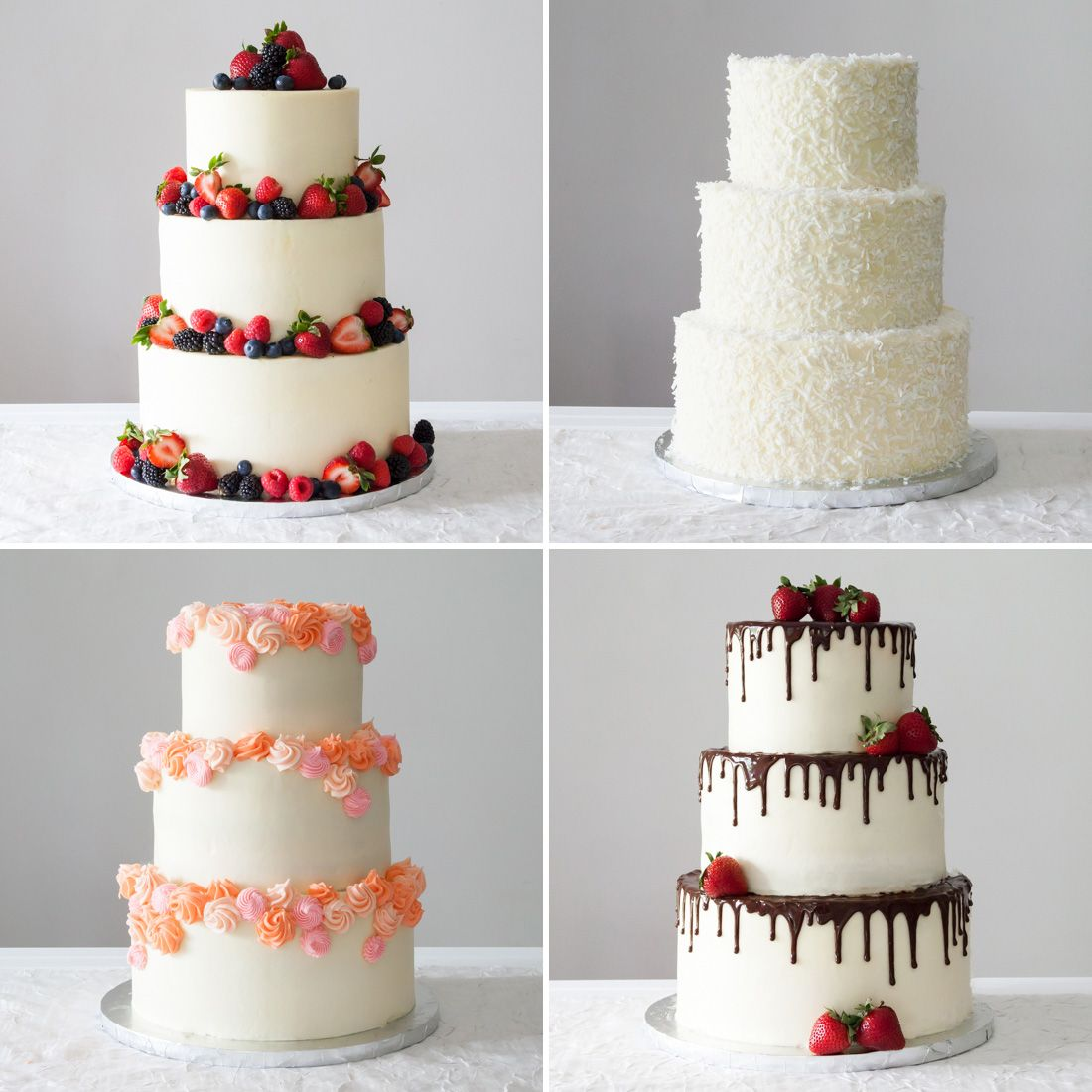 4 Easy Ways To DIY A Wedding Cake