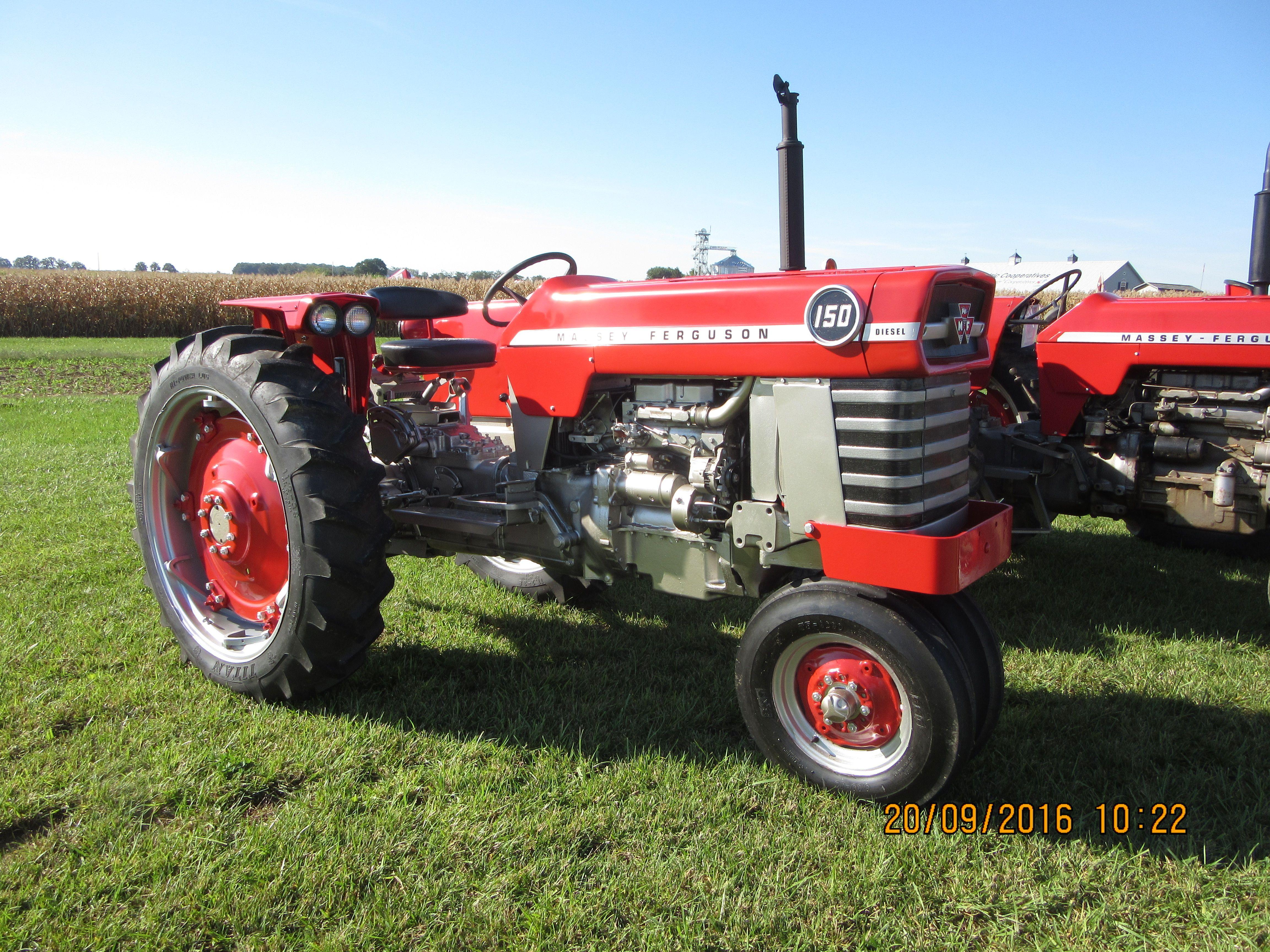 Massey Ferguson 150 Tractors, Tractor Pulling