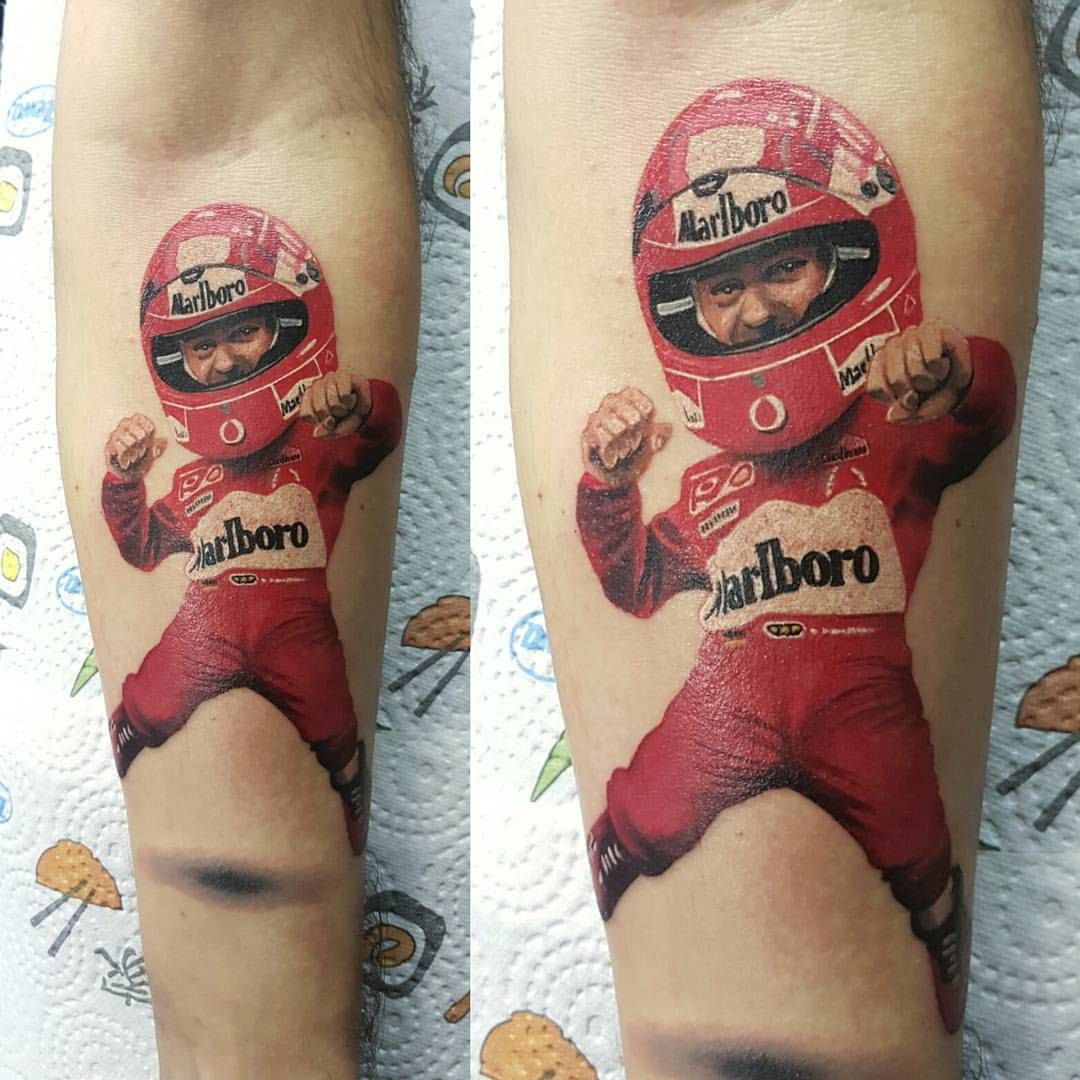 Small Tattoo Michael Schumacher Michaelschumacher With My Worldfamousink And Fkirons Michael Schumacher Cool Tattoos Tattoos