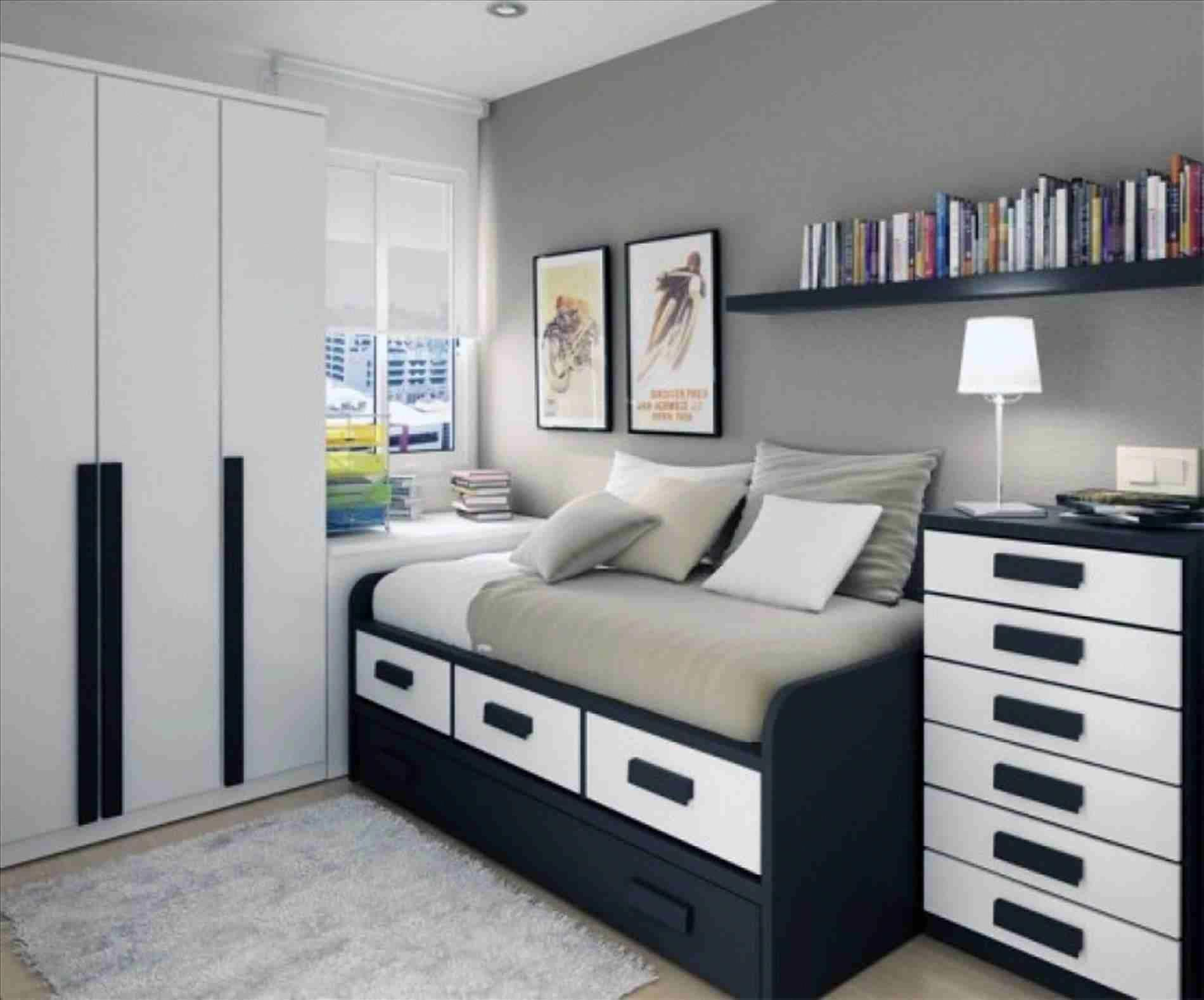 Teenage Modern Bedroom Ideas Round Modern White Laminated